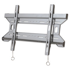 Balt - wall mount bracket for flat panel lcd & plasma tv, steel, 27x11-1/2x4, silver, sold as 1 ea
