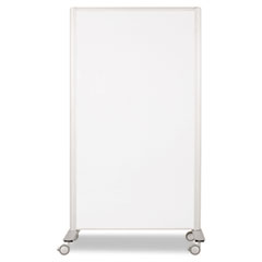 Best-rite - lumina room dividers, 39-1/2w x 71 3/4h, aluminum, sold as 1 ea