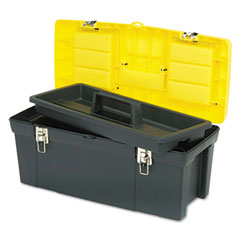 Stanley - series 2000 toolbox w/tray, two lid compartments, sold as 1 ea