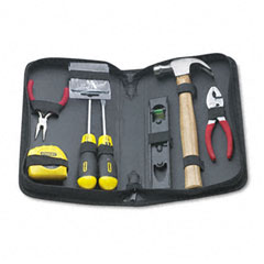 Stanley - general repair tool kit in water-resistant black zippered case, sold as 1 ea