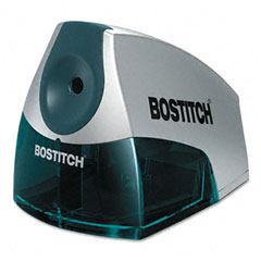 Stanley bostitch - compact desktop electric pencil sharpener, blue, sold as 1 ea