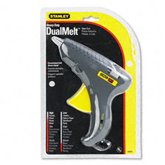 Stanley bostitch - glueshot dual melt high/low temperature glue gun, sold as 1 ea