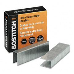 Stanley bostitch - heavy-duty staples for b380hd-blk auto 180 stapler, 1,000/box, sold as 1 bx
