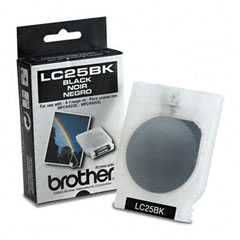 Brother BRTLC25BK LC25BK Ink, 480 Page-Yield, Black