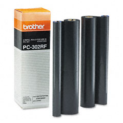 Brother - pc302rf thermal ribbon refill roll, 2/box, sold as 1 pk