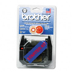 Brother - starter kit for brother ax, gx, sx, most wp and other typewriters, sold as 1 ea