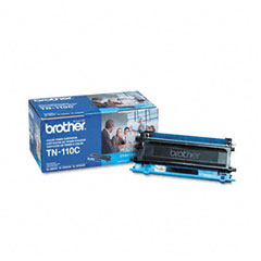 Brother - tn110c toner, 1500 page-yield, cyan, sold as 1 ea