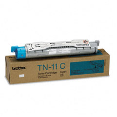 Brother BRTTN11C TN11C Toner, 6000 Page-Yield, Cyan