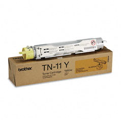 Brother BRTTN11Y TN11Y Toner, 6000 Page-Yield, Yellow