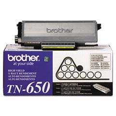 Brother TN650 Tn650 High-Yield Toner, 8000 Page-Yield, Black
