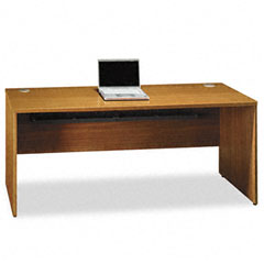 Bush QT4725MC Quantum Series Credenza Shell, 71-3/8W X 23-1/2D X 30H, Modern Cherry