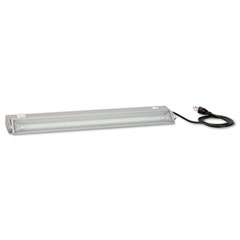 Bush - 15w fluorescent light pack for hutches, 23-1/2w x 3-1/2d x 1-3/4h, pewter finish, sold as 1 ea