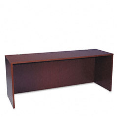 Basyx - bl series credenza shell, 72w x 24d x 29h, mahogany, sold as 1 ea