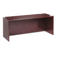 Basyx - bw veneer series credenza shell, 72w x 24d x 29h, mahogany, sold as 1 ea