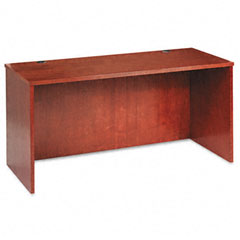 Basyx BW2123HH Bw Veneer Series Credenza Shell, 60W X 24D X 29H, Bourbon Cherry