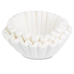 Bunn-O-Matic BCF100B Coffee Filters, 10/12-Cup Size, 100 Filters/Pack