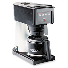 Bunn-O-Matic BX-B 10-Cup Pour-O-Matic Coffee Brewer, Black