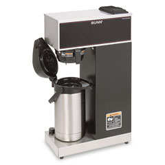Bunn-O-Matic VPR-APS Airpot Coffee Brewer, Brews 3.8 Gal.,Stainless Steel W/Black Accents