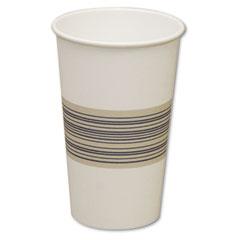 BWK 16HOTCUP Paper Hot Cups, 16 Oz., Blue/Tan, 20 Bags Of 50, 1000/Carton