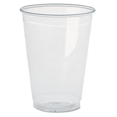 BWK BWKYP160C Clear Plastic PETE Cups, 16 oz.,10 Bags of 50/Carton