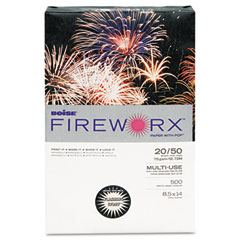 Boise - fireworx colored paper, 20lb, 8-1/2 x 14, flashing ivory, 500 sheets/ream, sold as 1 rm