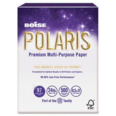 Boise Cascade POL-2417 Polaris Copy Paper, 11 X 17, 24Lb White, 2500 Sheets/Carton