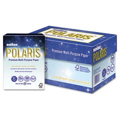 Boise - polaris copy paper, 8 1/2 x 11, 20lb white, 5,000 sheets/carton, sold as 1 ct