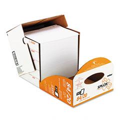 Boise Cascade SP-8420-P Splox Paper Delivery System, 3 Hole, 92 Brightness, 20Lb, Ltr, White, 2500/Ctn