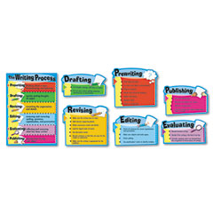 Carson-dellosa publishing - the writing process bulletin board set, the writing process, 17-inch x 24-inch, sold as 1 st