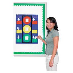 Carson-dellosa publishing - stoplight pocket chart, 14 1/2 x 11 1/2, sold as 1 ea