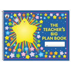 Carson-dellosa publishing - lesson plan book, 42-week, wirebound, 9-1/4 x 13, 96 pages, sold as 1 ea