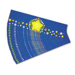 Carson-Dellosa Publishing Rainbow Star Crowns, 23-1/2w x 6-1/4h, 30/Pack