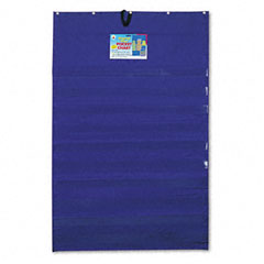 Carson-dellosa publishing - original plus 10-pocket chart with five clear sentence strips, blue, 34 x 52, sold as 1 ea