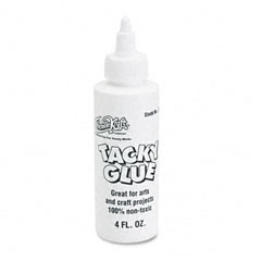 Chenille kraft - kraft tacky glue, 4 oz, liquid, sold as 1 ea