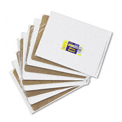 Chenille kraft - student dry-erase boards, melamine, 12 x 9, white, 10/set, sold as 1 st