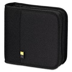 Case logic - cd/dvd expandable binder, holds 24 disks, black, sold as 1 ea