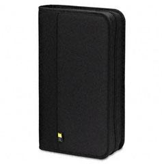 Case logic - cd/dvd expandable binder, holds 48 disks, black, sold as 1 ea