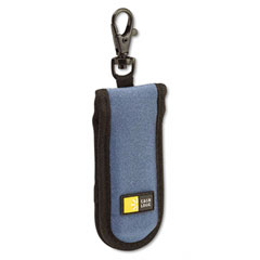 Case logic - usb drive shuttle, holds 2 usb drives, blue, sold as 1 ea
