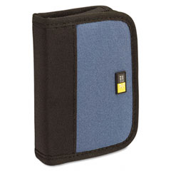 Case logic - media shuttle, holds 6 usb drives, blue, sold as 1 ea