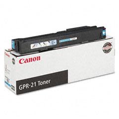 Canon 0261B001AA 0261B001Aa (Gpr-21) Toner, 30000 Page-Yield, Cyan