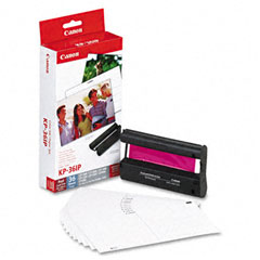 Canon - 7737a001 color ink cartridge & glossy photo paper kit, 36 glossy 4 x 6 sheets, sold as 1 ea