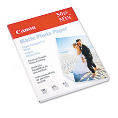 Canon - photo paper plus, matte, 8-1/2 x 11, 50 sheets/pack, sold as 1 pk