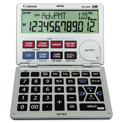 Canon FN600 Fn600 Interactive Financial Calculator, 12-Digit Lcd