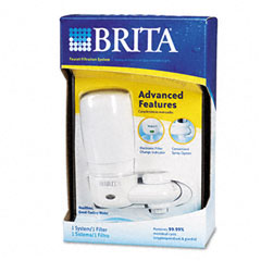 Brita - faucet filter system, electronic filter-change indicator, sold as 1 ea