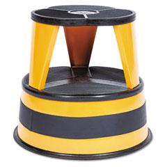 Cramer - kik-step two-step steel step stool, 14-inch high, 500lb duty rating, orange, sold as 1 ea
