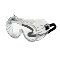 Crews - safety goggles, over glasses, clear lens, sold as 1 ea