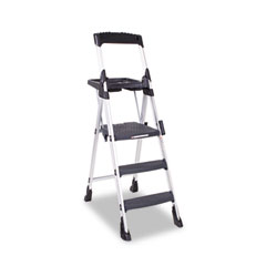 Cosco - worlds greatest work platform, 300lb duty rating, aluminum/resin, black, sold as 1 ea