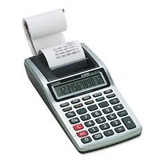Casio - hr-8tm handheld portable one-color printing calculator, 12-digit lcd, black, sold as 1 ea