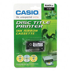 Casio - tr18bk thermal ink ribbon cartridge, black, sold as 1 ea