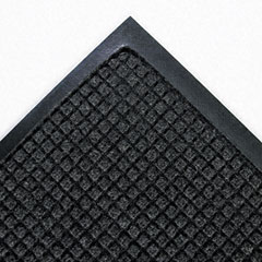 Crown - super-soaker wiper mat w/gripper bottm, polypropylene, 45-inch x 67-inch, charcoal, sold as 1 ea